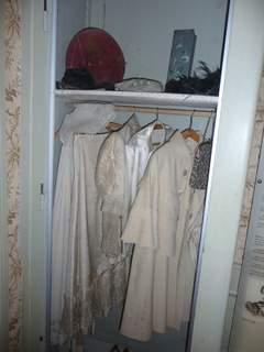 Mileva's closet