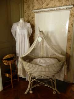 Hans Albert's bassinet