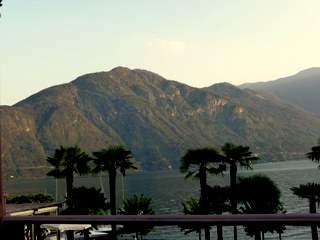Lake Como glacial basin