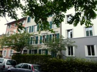 Albert's rooming house at Unionstrasse 4